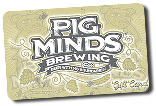 pig minds brewing gift card